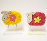 Schafe als Osterdeko