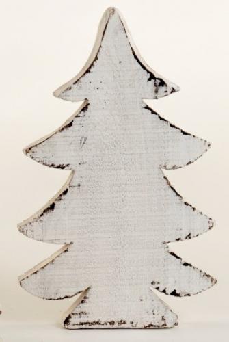 holzweihnachtsbaum wei 18x10cm holzbaum weihnachtsbaum. Black Bedroom Furniture Sets. Home Design Ideas