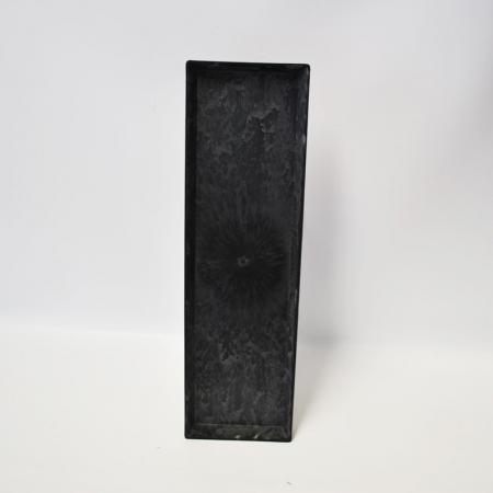 platte teller l nglich grau 44x13 cm. Black Bedroom Furniture Sets. Home Design Ideas